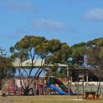 Playground not far away from The Oyster Farm Shop