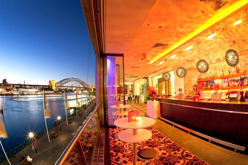 ECQ Bar. Image courtesy Pullman Quay Grand Sydney.