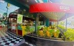 Outside seating, Cosmic Diner Bali