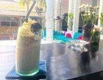 Decadent choc milkshake for the kids. Motel Mexicola, Bali