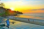 Seafood and sunsets. Sundara. Bali