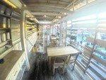 Upper level dining area