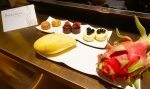 Sofitel Singapore Sentosa Resort and Spa. Tropical fruit and sweet treats at turndown