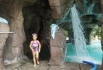 The spa grotto and cave with waterfalls, Surfers Paradise Marriott Resort and Spa