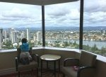 Views from the liftwell, Surfers Paradise Marriott Resort and Spa