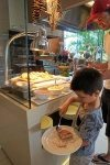 Waffle, pancakes and sprinkles! Surfers Paradise Marriott Resort and Spa breakfast buffet