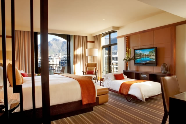 Room with rollaway bed. Image: One&Only Resort Cape Town.