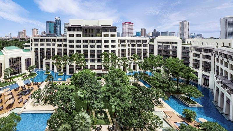Five star Bangkok with kids at Siam Kempinski Hotel Bangkok